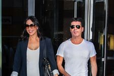 Simon Cowell and Lauren Silverman Take Newborn to Beach in Miami