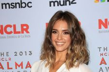 Jessica Alba Has Marilyn Monroe Moment In NYC