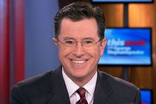 """Stephen Colbert to Succeed David Letterman on """"Late Show"""""""