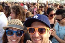 Aaron Paul Photobombs Couple At Coachella (Pic)!