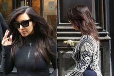 Kim Kardashian Ditches Her Hair Extensions In Paris!