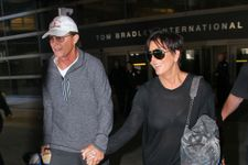 Kris And Bruce Jenner Hold Hands On Return From Thailand!