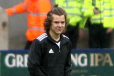 Harry Styles Pulls Down Piers Morgan's Pants At Soccer Game