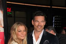 LeAnn Rimes Falls At The Indy 500!