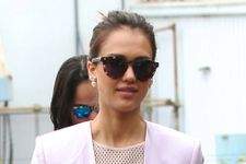 Jessica Alba Hosts Baby Shower For Military Mums