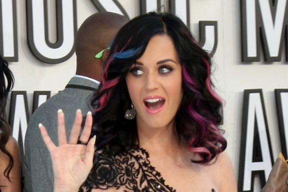 Katy Perry's Hair Evolution