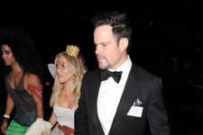 Hilary Duff And Mike Comrie Attend Halloween Party Together