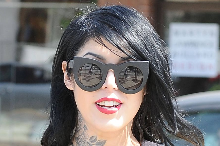 Kat Von D's Tattoo Parlour Goes Up In Flames