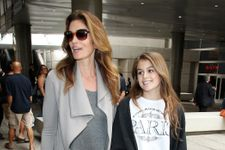 Cindy Crawford's Daughter Models For Teen Vogue