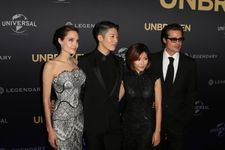 Angelina And Brad's First Red Carpet Appearance Since Wedding