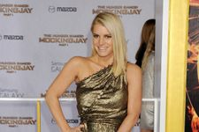 Jessica Simpson Steals The Show At Mockingjay L.A. Premiere
