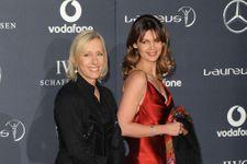 Tennis Legend Martina Navratilova And Julia Lemigova Wed
