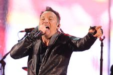 Bruce Springsteen And Chris Martin Fill In For U2's Bono