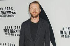 """Simon Pegg Co-Writing """"Star Trek 3"""""""