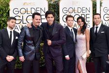 The Entourage Movie Filmed On The Golden Globes Red Carpet
