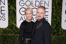 Robin Wright And Ben Foster Back Together At Golden Globes