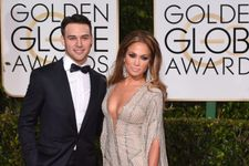 Jennifer Lopez Arrives At Golden Globes With Young, Hot Co-Star