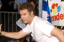 Will Ferrell Nails Cheerleader In The Face With Basketball