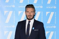 David Beckham Announces Newest Charity Project With UNICEF