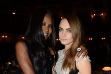 Naomi Campbell And Cara Delevingne Deny Getting Into Brawl At Fashion Week