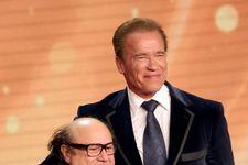 Danny DeVito Presents Arnold Schwarzenegger With Lifetime Achievement Award