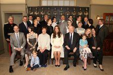 Kate Middleton Visits 'Downton Abbey' Set