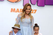 Jennifer Lopez's Adorable Twins Steal The Spotlight At 'Home' Premiere