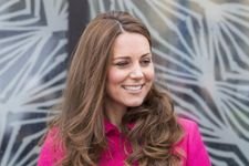 Kate Middleton Is Pretty In Pink For Final Public Appearance Before Giving Birth