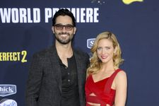 Brittany Snow, Tyler Hoechlin Make Rare Red Carpet Appearance Together
