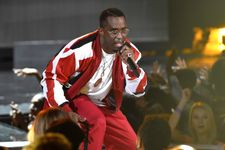 Diddy Falls Into Hole During BET Awards Bad Boy Performance