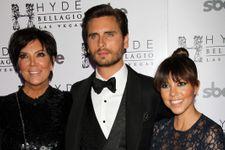 Scott Disick Joins The Kardashians For Dinner To Honor Robert Kardashian