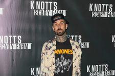 Travis Barker Admits He Couldn't Take His Eyes Off Kim Kardashian