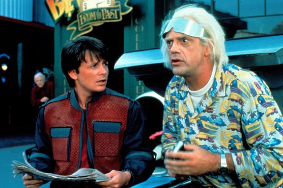 Michael J. Fox And Christopher Lloyd Have A 'Back To The Future' Reunion