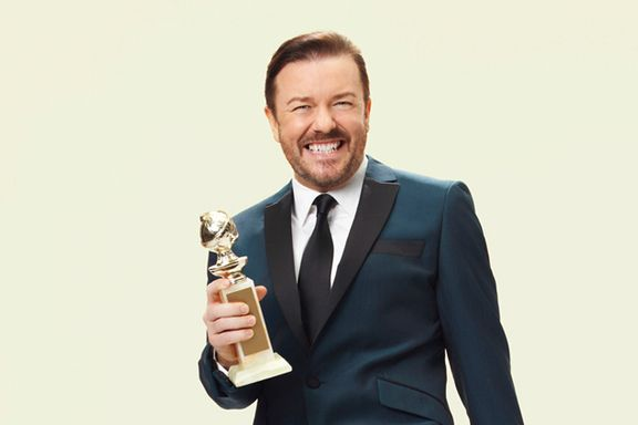 "Ricky Gervais To Host The Golden Globes For The Fifth And ""Final"" Time"