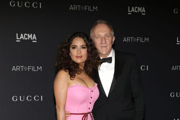 Salma Hayek's Husband Pledges $113 Million To Rebuild Notre Dame Cathedral After Fire