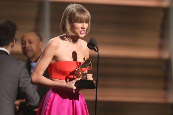 Taylor Swift Slams Kanye West In Fiery Grammy Acceptance Speech