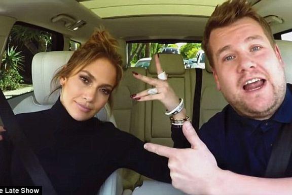 Jennifer Lopez Joins James Corden On Carpool Karaoke