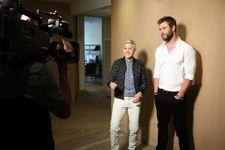 Chris Hemsworth Surprises Secretary With Ellen For Administrative Pros Day