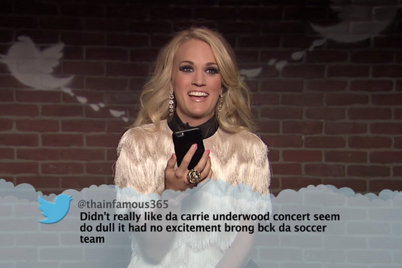 "The 8 Best ""Celebrities Read Mean Tweets"" On Jimmy Kimmel"