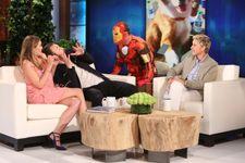 Chris Evans And Elizabeth Olsen Pull Off Hilarious Scare Pranks On 'Ellen'