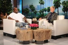 Kanye West Takes Over Ellen In 7 Minute Monologue