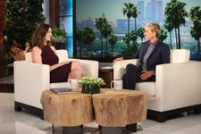 Anne Hathaway Visits Ellen To Talk About Motherhood