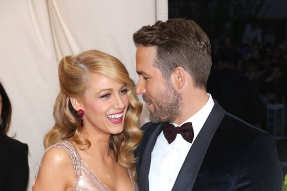 "Blake Lively Says She Loves Ryan Reynolds ""Most Of The Time"""