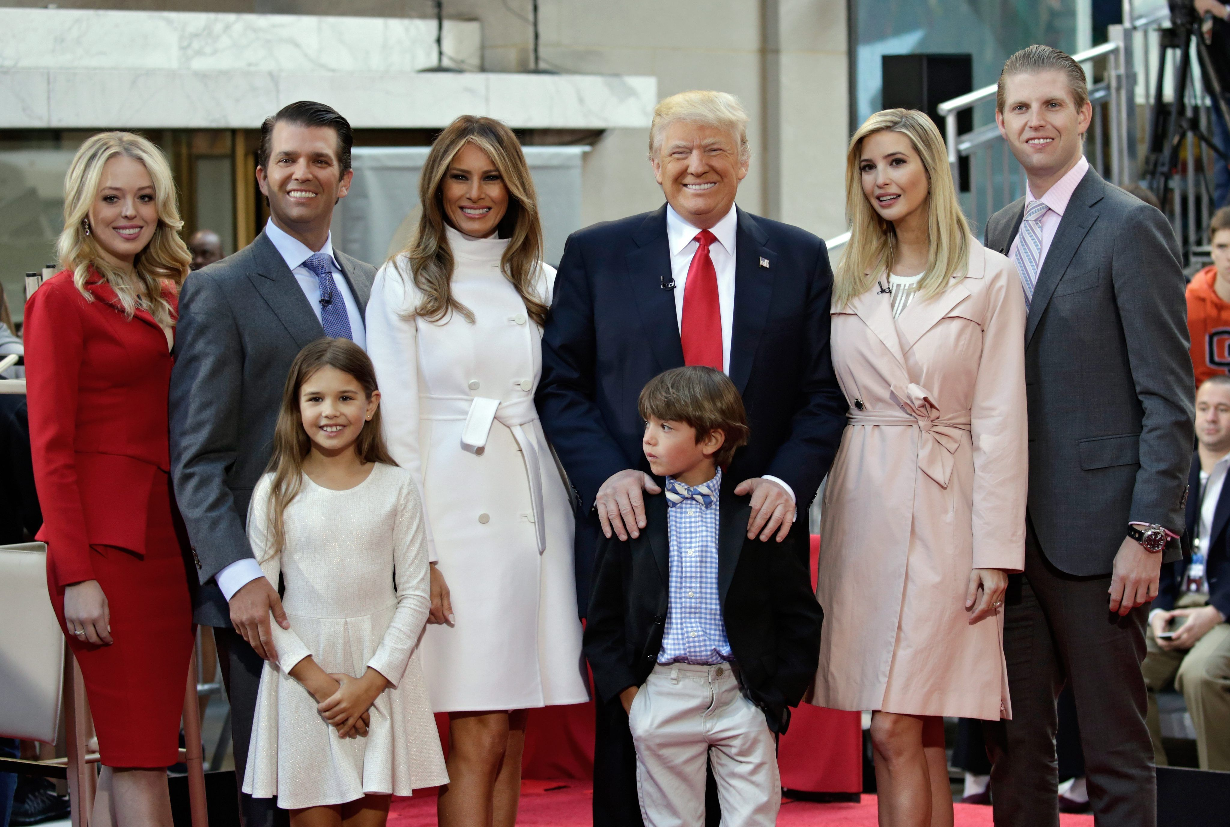 10 Shocking Things You Didn't Know About Donald Trump's Kids - Fame10