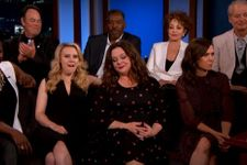 Original Ghostbusters Stars Unite With New On Jimmy Kimmel