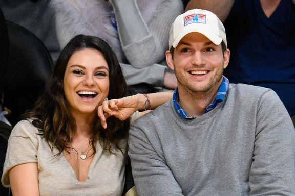 Ashton Kutcher Gets Emotional In Tribute To Mila Kunis And Kids