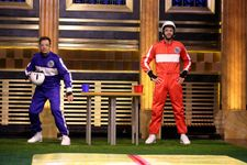 Liam Hemsworth Joins Jimmy Fallon For A Game Of 'Slip And Flip'