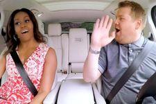 Michelle Obama And James Corden Sing Beyonce On Carpool Karaoke