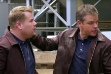 James Corden Hilariously Becomes Matt Damon's 'Jason Bourne' Stunt Double