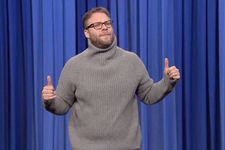 Seth Rogen Hilariously Lip-Syncs 'Hotline Bling' On The Tonight Show